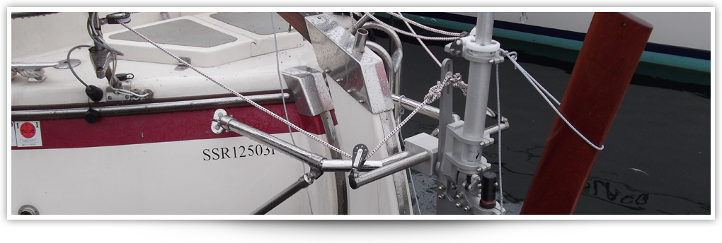 Sea Feather Wind Vane Self Steering for Yachts header image